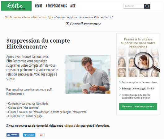 1 - La suspension temporaire d'un profil