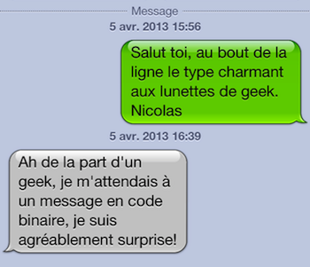 premier message efficace