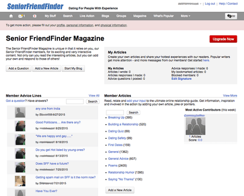 test de senior friend finder
