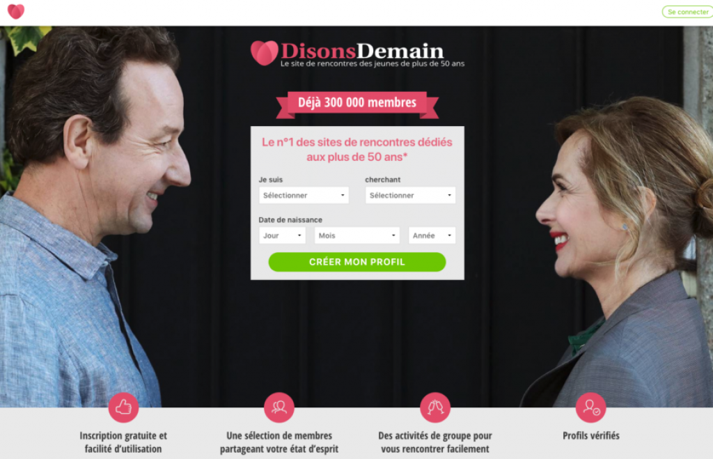 grand premier message datant site