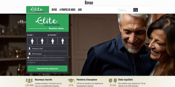 Elite Rencontre, le site de rencontre élitiste pour les plus de 50 ans