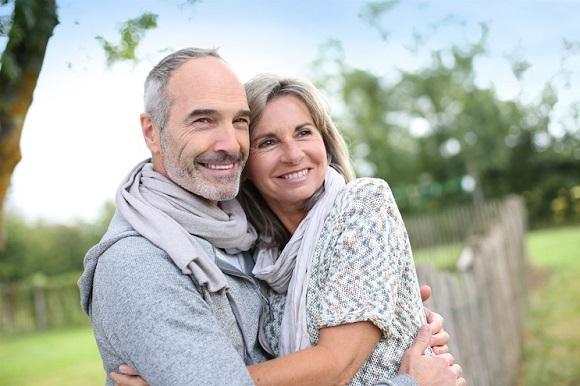 couple senior en ligne
